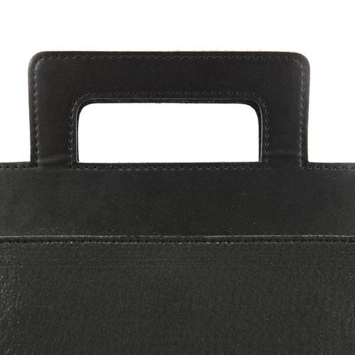 Henry Felt Briefcase   Simple, Minimal, Subtle   MRKT Bags
