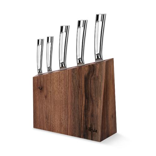 N1 Series 6-Piece Set,Walnut Wood Block | Cangshan