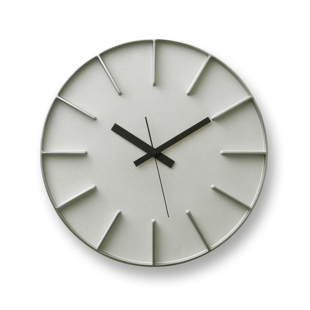EDGE CLOCK | Aluminum | Lemnos Wall Clocks
