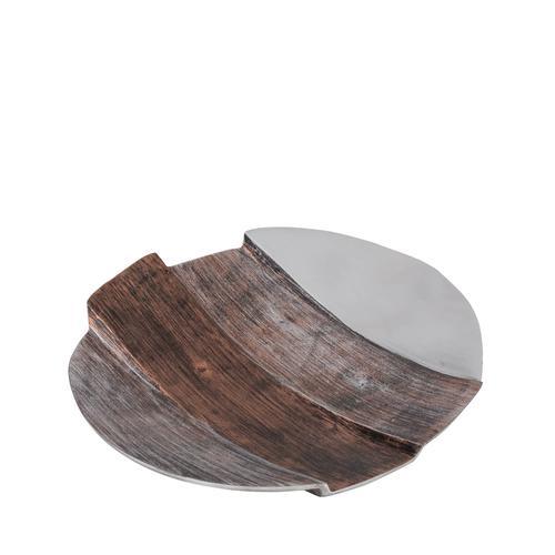 Tri-Tone Round Aluminum Plate