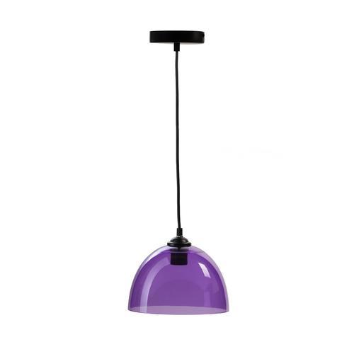 Suspension Bowl Pendant Lamp | Purple [SET OF 2]