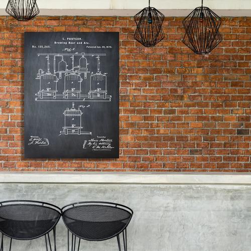 Pasteur-Chalk   Canvas
