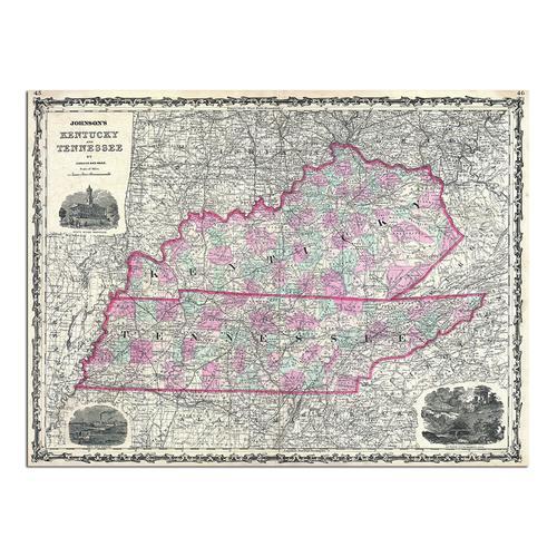 Kentucky & Tennessee | Paper