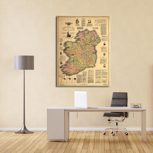 Home Rule Map of Ireland | Canvas