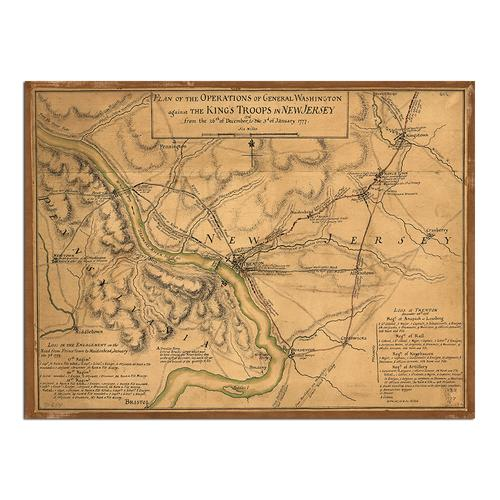 Plan of the operations - General Washington | Paper