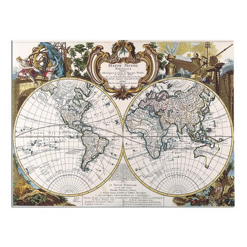Mappe Monde-1744 | Paper