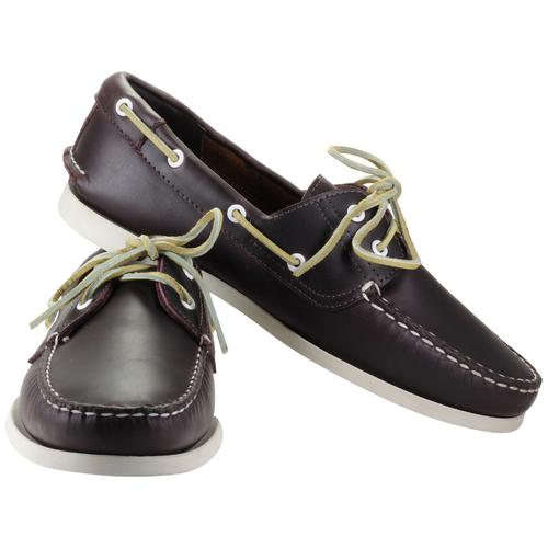 Classic Boat Shoe | Red Brown