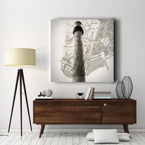 Maine Lighthouse | Canvas
