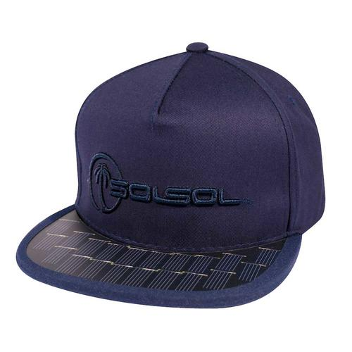 The Solar Charger Hat   Navy