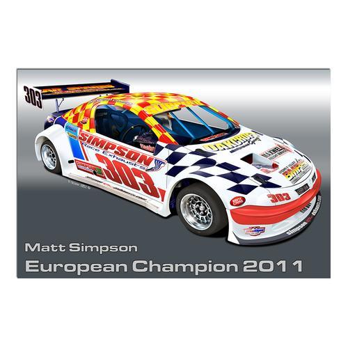 Matt Simpson National Hotrod UK I | Paper