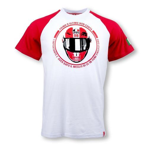 Marco Simoncelli Helmet T-shirt