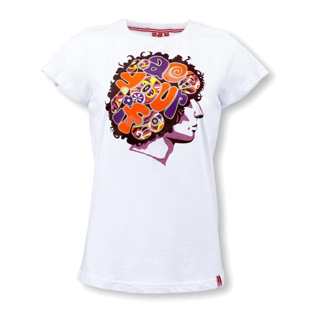 Marco Simoncelli Brain T-shirt Women   Moto GP Apparel