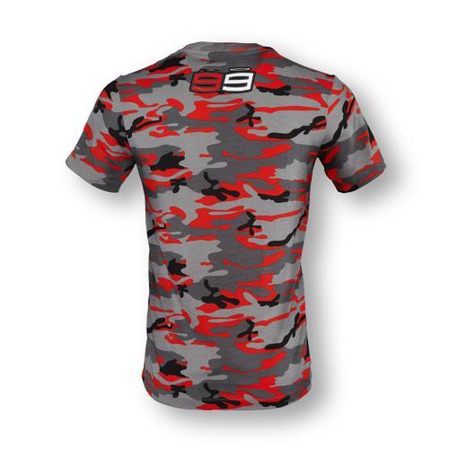 Jorge Lorenzo Camo T-shirt   Moto GP Apparel