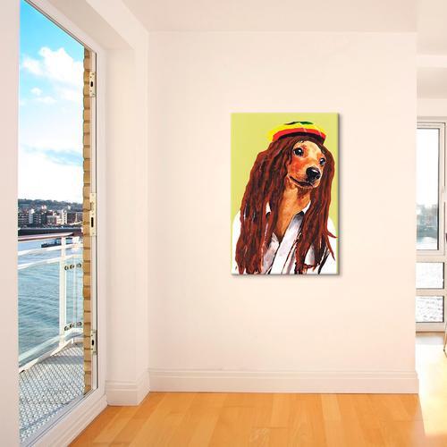 Bob Marley Dachshund