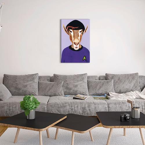 Mr. Spock Goat