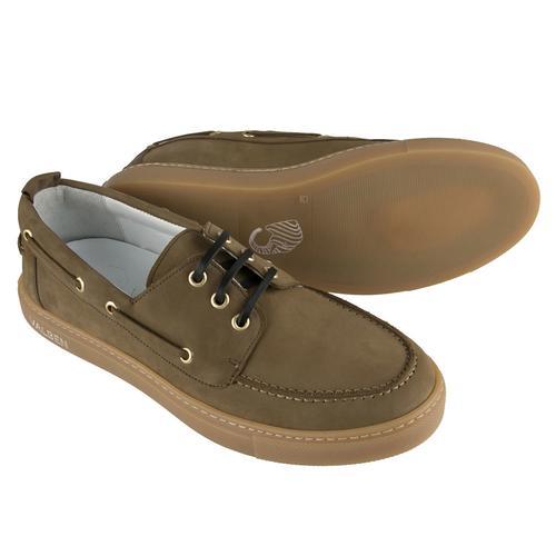 Boat Shoe | GREEN NUBUCK