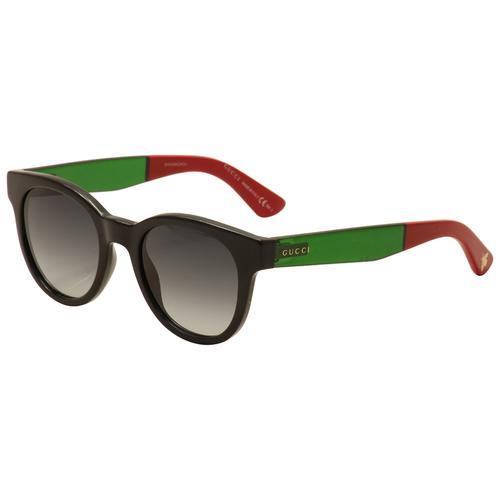 Black Frame Sunglasses with Grey Gradient Lenses
