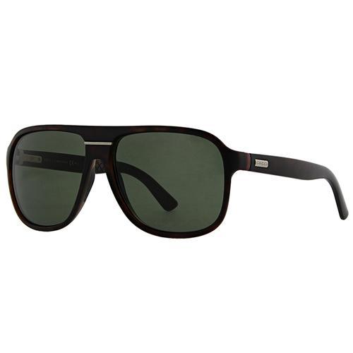 Aviator Green Lens Men's Sunglasses
