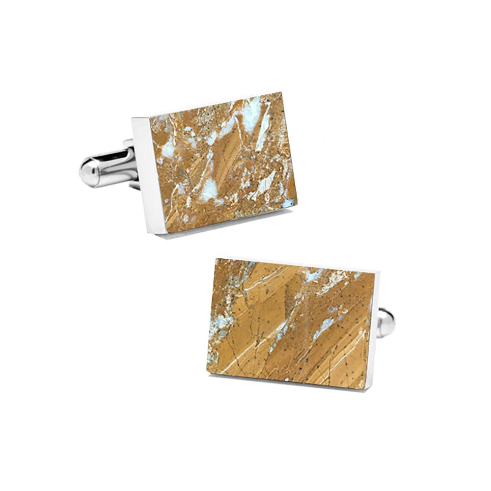 Cuff Links Series Galaxy Gold Mikol Marble Accessories