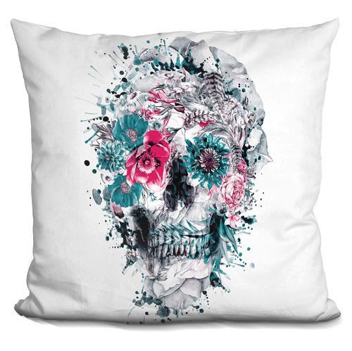 Riza Peker 'Momento Mori IX' Throw Pillow