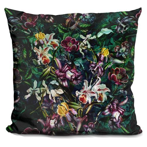 Riza Peker 'SECRET GARDEN' Throw Pillow