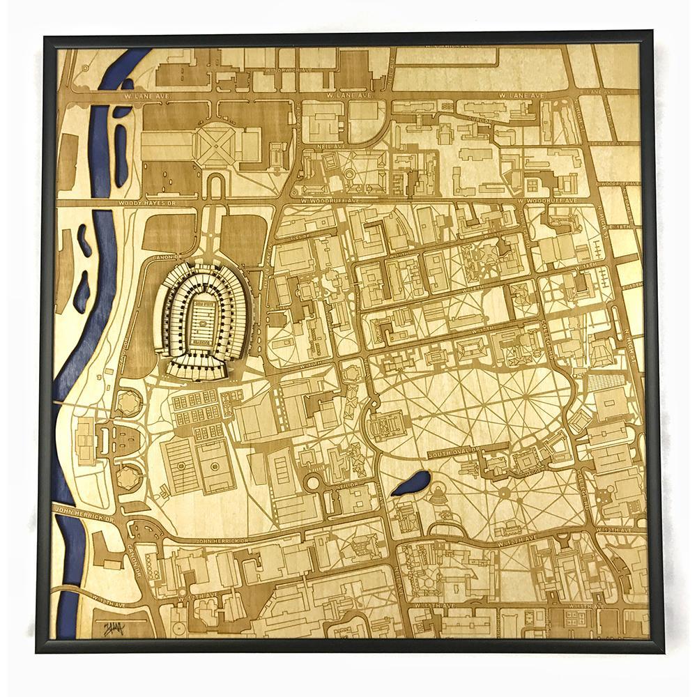 3D Stadium Maps | Columbus, OH