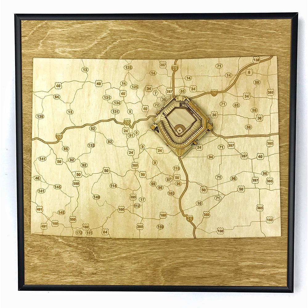 3D Stadium Maps | Colorado, Denver (Coors Field)