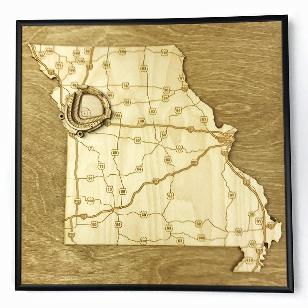 3D Stadium Maps | Missouri, Kansas City (Kauffman Stadium)