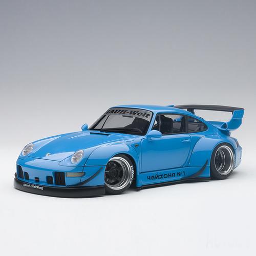 RWB 993, Blue/Gun Grey Wheels