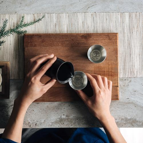 Pure Tin Straight Glass | Woo Collective Barware