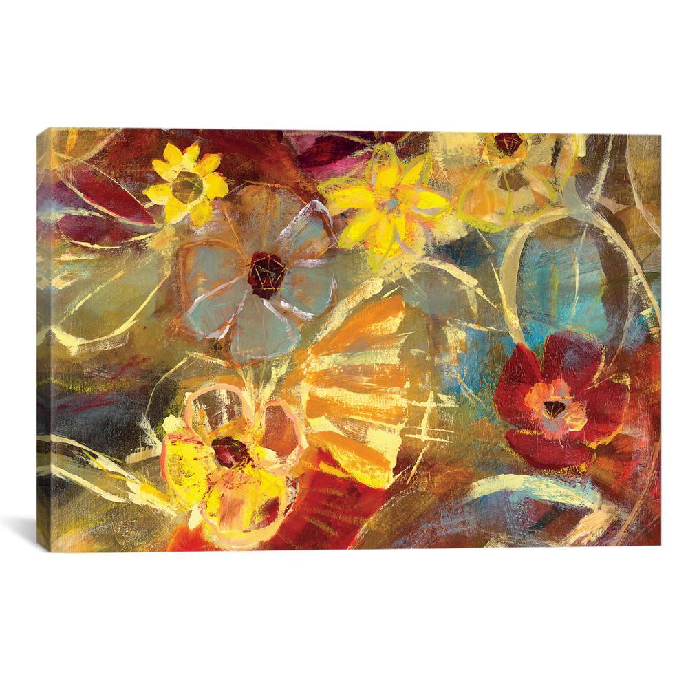 Chalkboard Flowers II   Julian Spencer