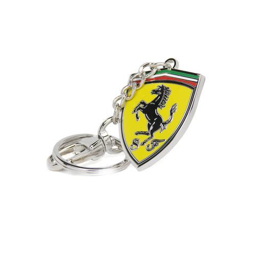 Scuderia Ferrari Metal Shield Keyring
