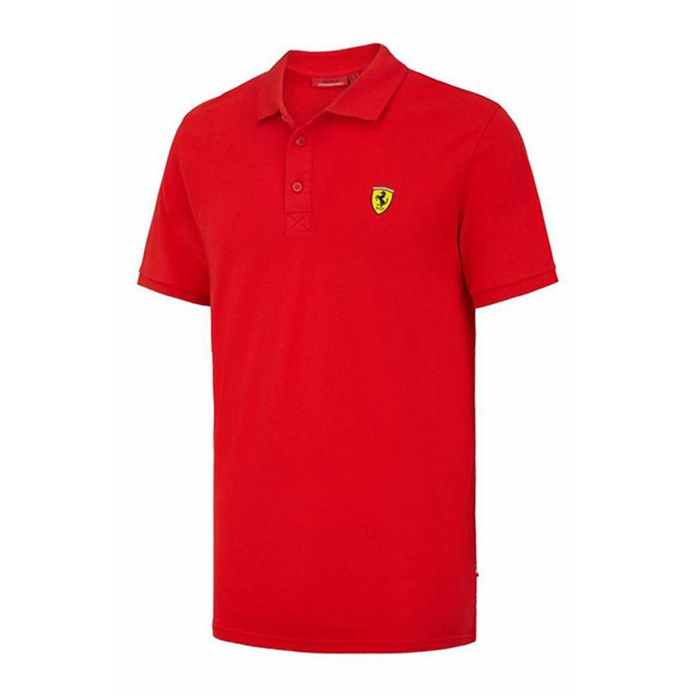 Scuderia Ferrari Classic Polo Mens   Motorstore