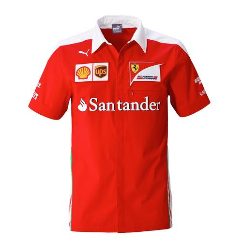 Scuderia Ferrari Team Shirt Mens 2016 Replica