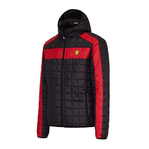 Scuderia Ferrari Packable Padded Jacket Mens