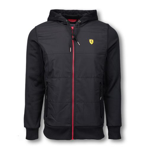 SCUDERIA FERRARI FULL ZIP SWEATSHIRT MENS