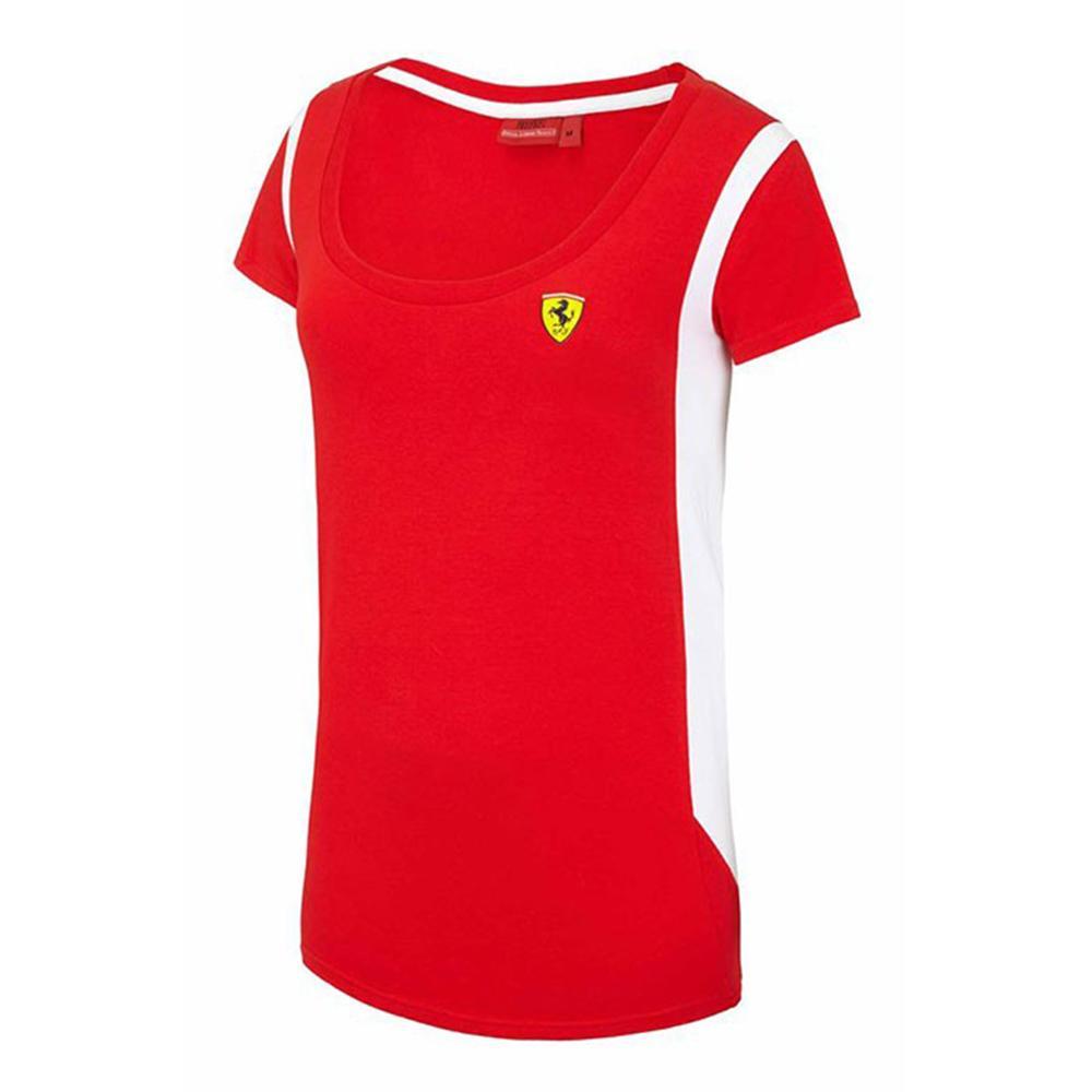 Scuderia Ferrari Race T-Shirt Ladies | Motorstore