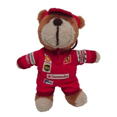 Scuderia Ferrari Teddy Keyring