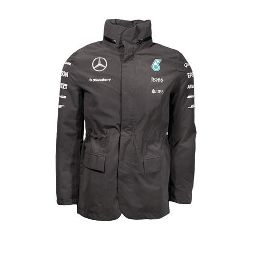 MERCEDES AMG PETRONAS RAINJACKET MENS 2015 REPLICA