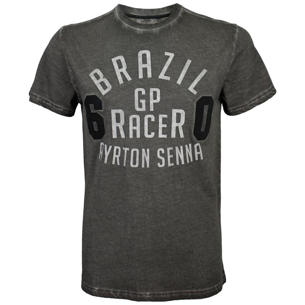 AYRTON SENNA GP RACER T-SHIRT MENS | Motorstore F1 Team