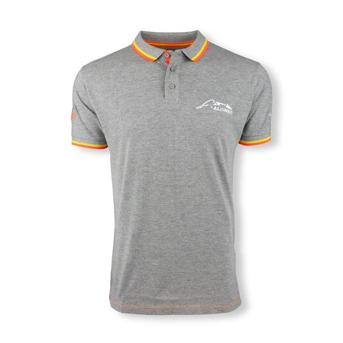 MCLAREN HONDA FERNANDO ALONSO 14 POLO SHIRT MENS