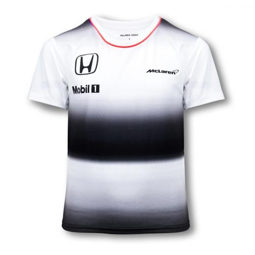 MCLAREN HONDA JENSON BUTTON T-SHIRT KIDS 2016 REPLICA