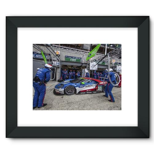 Pit Stop - Racing Ford GT | Black