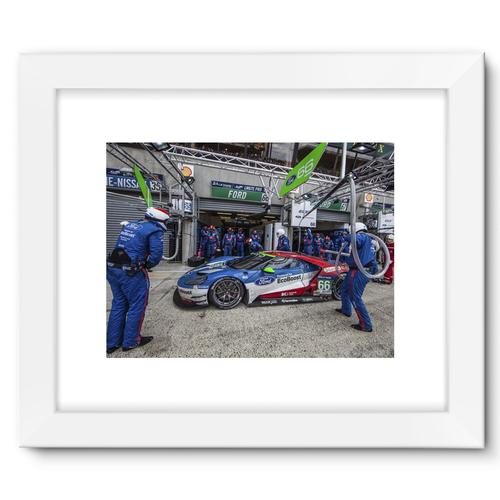 Pit Stop - Racing Ford GT   White