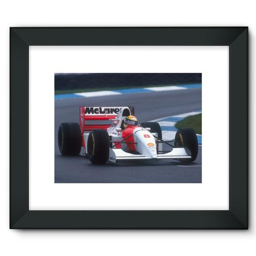 Ayrton Senna, 1993 European Grand Prix | Black